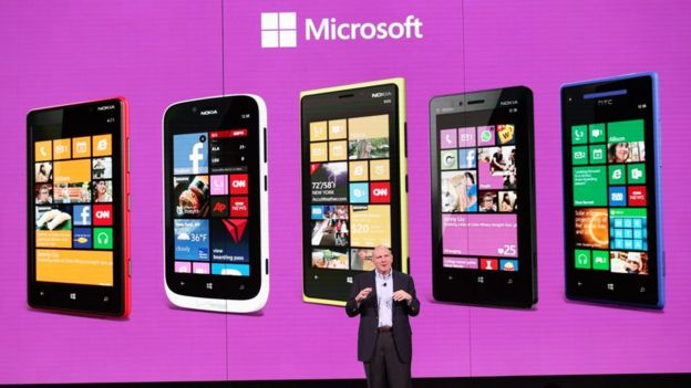 Presentación de Windows Phone en 2012