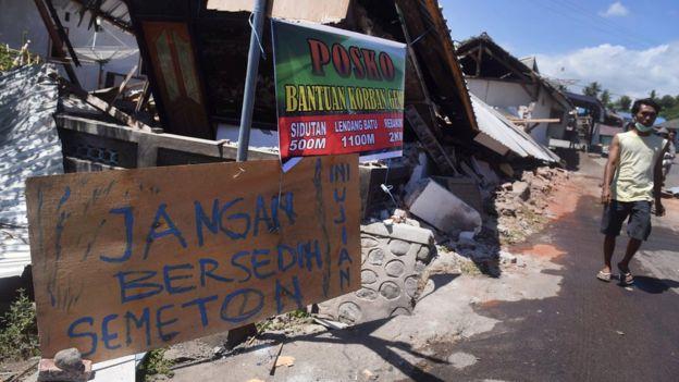 Gempa Lombok Korban Meninggal Dunia Mencapai 436 Orang Kerugian