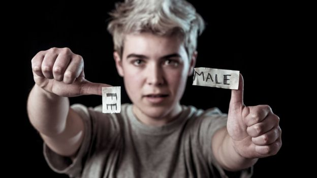 Adolescente transgênero