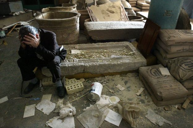 Museum Of Lost Objects Looted Sumerian Seal Bbc News