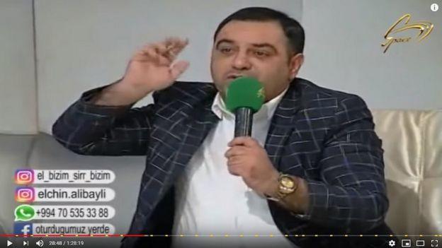 El bizim, sirri bizim, space TV, Mirismayıl Xələfli