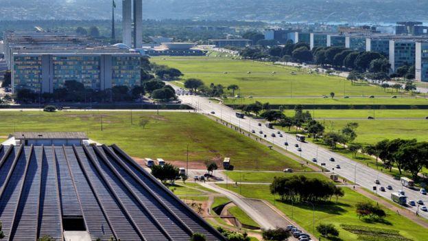 Região central de Brasília