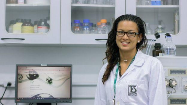 A pesquisadora colombiana Andrea Diaz Roa