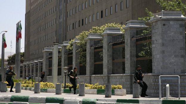 مبنى مجلس الشورى الإيراني