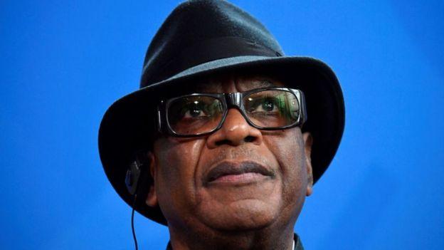 Ibrahim Boubacar Keita dit avoir démissionner pour éviter un bain de sang