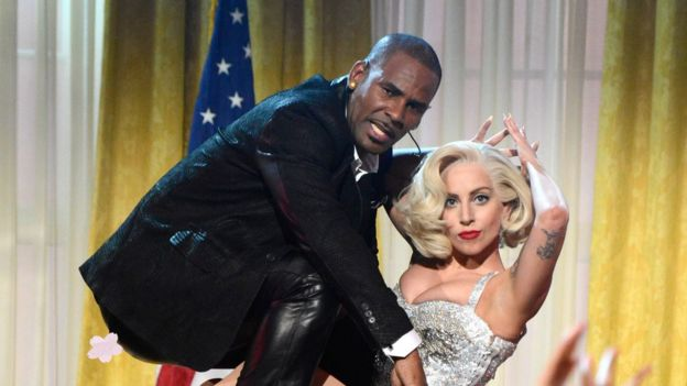 R Kelly and Lady Gaga