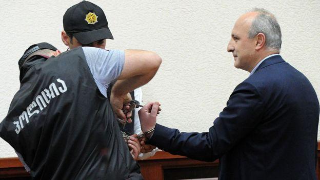 Вано Мерабишвили в суде