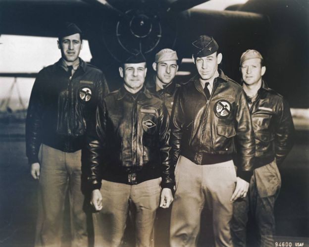 Five members of the Doolittle raiders