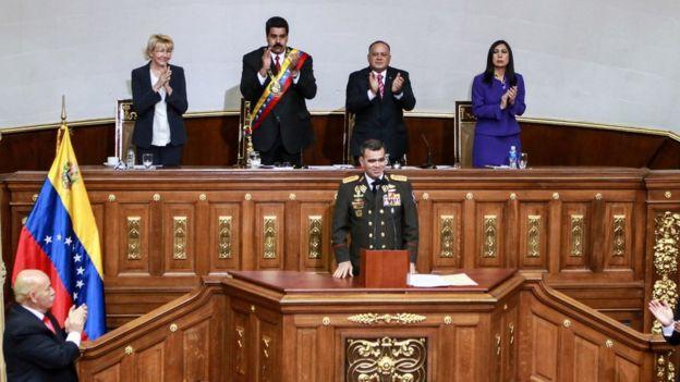 Sesión en la Asamblea Nacional en 2014.