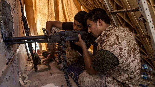 Libya Ulusal Uzlaşma Hükümeti güçleri