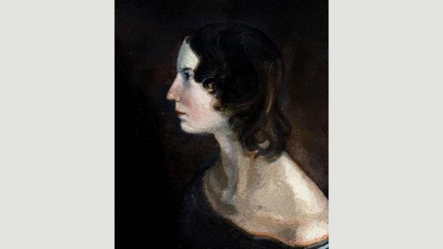 """رسم """"البورتريه"""" للكاتبة إيميلي برونتي"""
