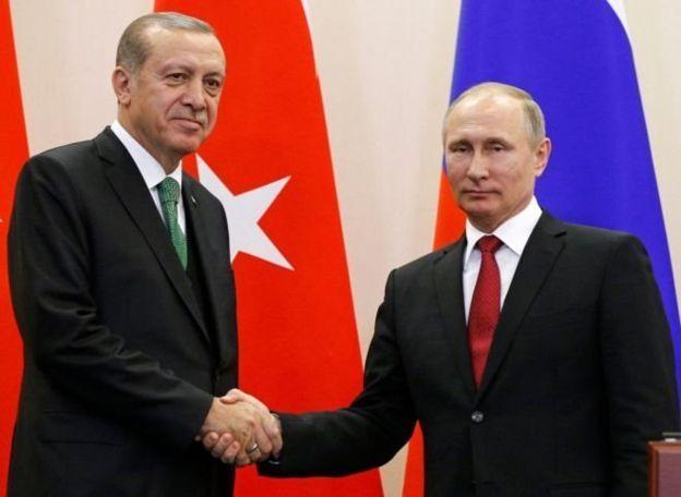 Cumhurbaşkanı Erdoğan ve Rusya lideri Putin
