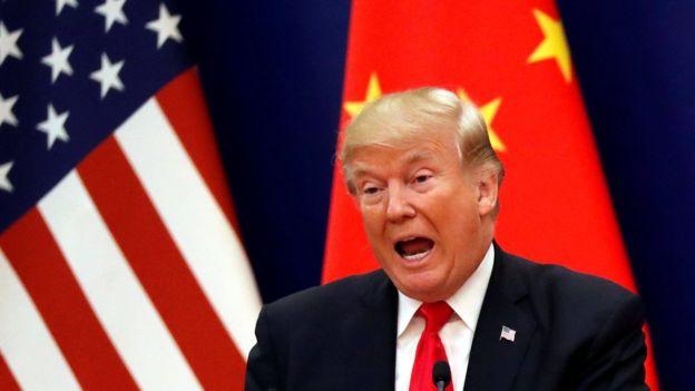 特朗普稱貿易逆差上不怪中國