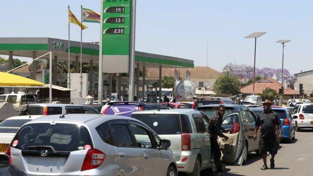 Zimbabwe Currency Crisis No Cash No Bread No Kfc Bbc News