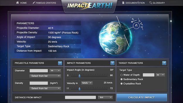 Impact Effects website (Purdue University)
