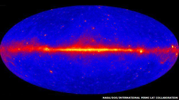 Fermi gamma-ray image updates 'extreme Universe' view