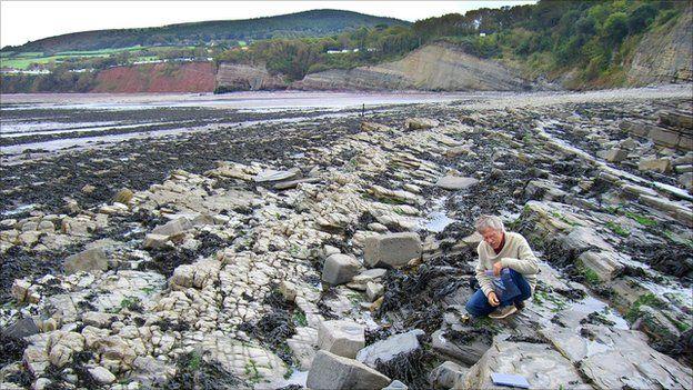 Paul Olsen at St Audrie's Bay