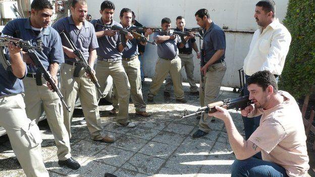 Zain contract guard training