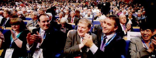 Angus Robertson and Angus MacNeil