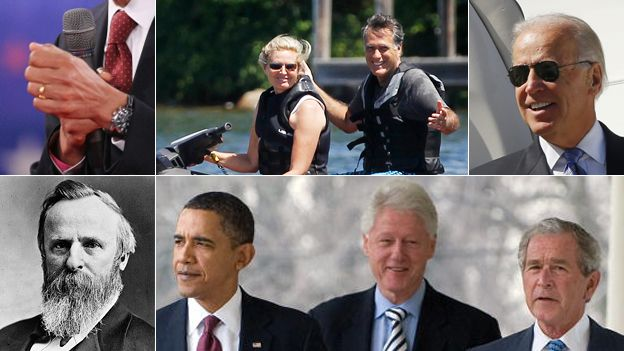 Election oddities composite