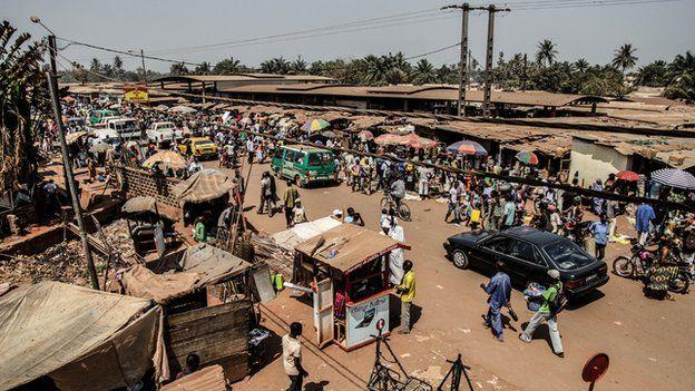 Neighbourhood of PK5 in Bangui
