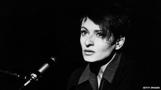 French singer Barbara