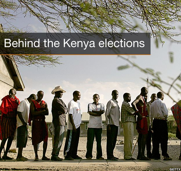 Title page: Behind the Kenya elections