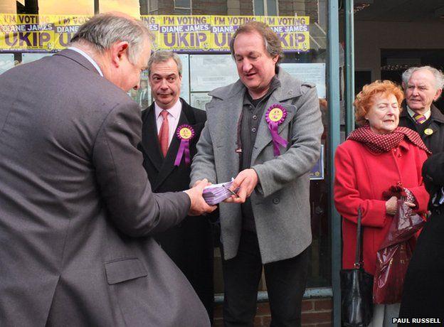 Nigel Farage and UKIP