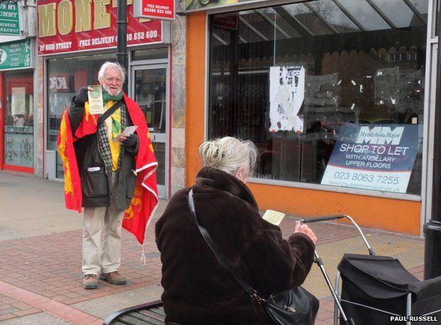 Colin Bex, Wessex Regionalist candidate