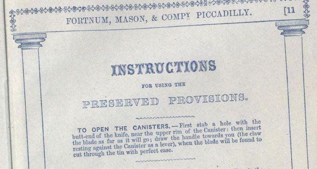 Fortnum 1849 catalogue