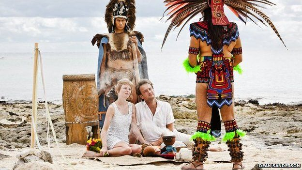 Lisa Grant and Alex Pelling in Mexico