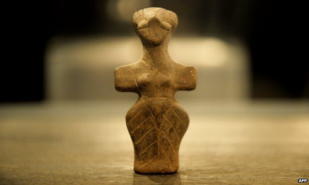 Neolithic figurine