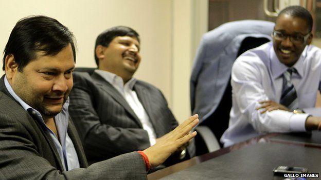 Ajay and Atul Gupta, and Sahara director, Duduzane Zuma