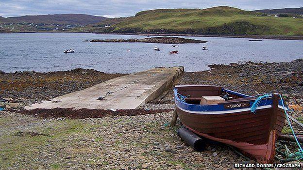 Meanish Pier, Skye
