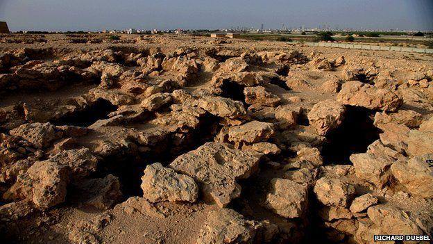 Burial ground, Saar Richard Duebel