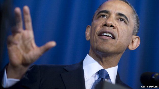 President Obama speaks about drones