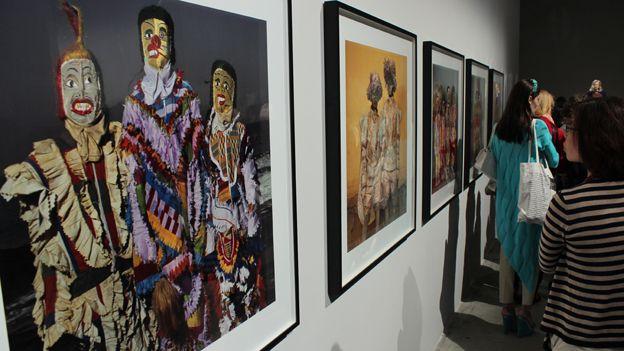 Photographs by US artist Phyllis Galembo of the Winneba Fancy Dress Festival in Ghana