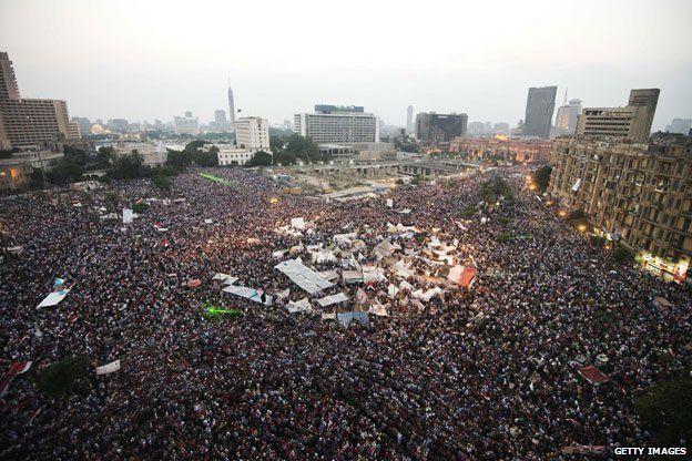 Tahrir Square, 3 july 2013