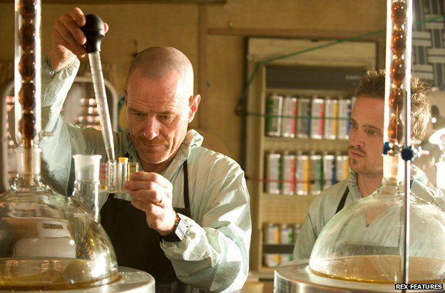 "Crystal meth lab from ""Breaking Bad"""