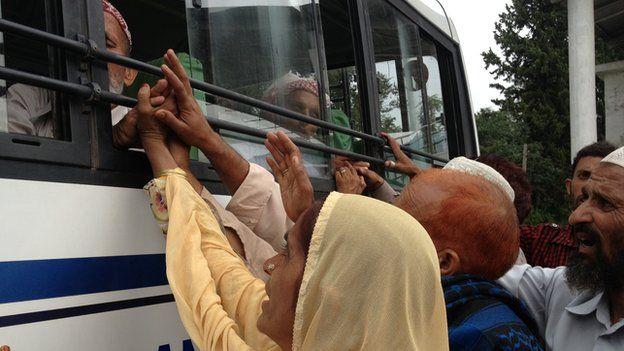 The Poonch-Rawlakot bus