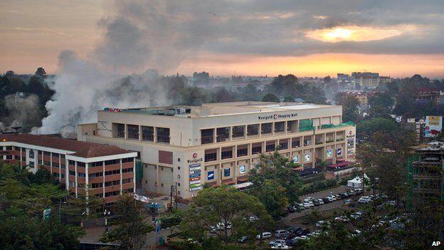 Westgate shopping mall on 26 September 2013