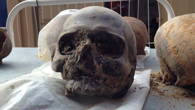 Roman skull
