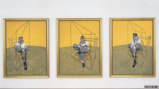 Three Studies of Lucian Freud, Francis Bacon