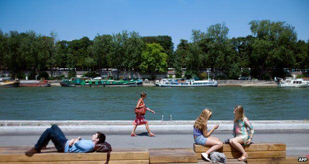 Bank of the Seine