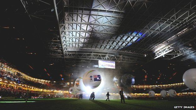 Rugby League World Cup opening ceremony