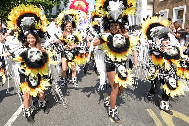 Notting Hill Carnival entertainers