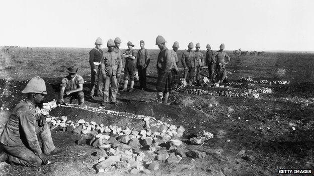 Boer War British graves