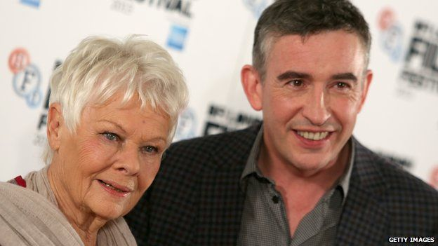 Judi Dench and Steve Coogan