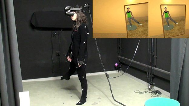 Participant in virtual world