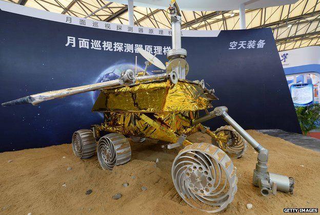 Chang'e 3 model